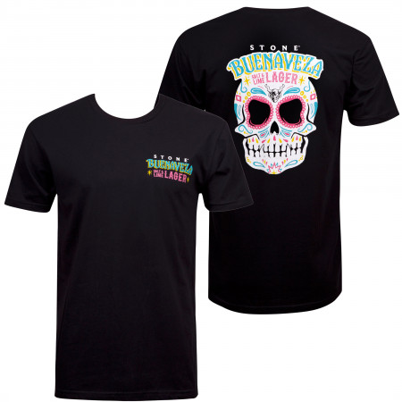 Stone Brewing Men's Black Buenaveza T-Shirt