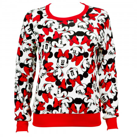Disney Minnie Mouse Juniors Sweater