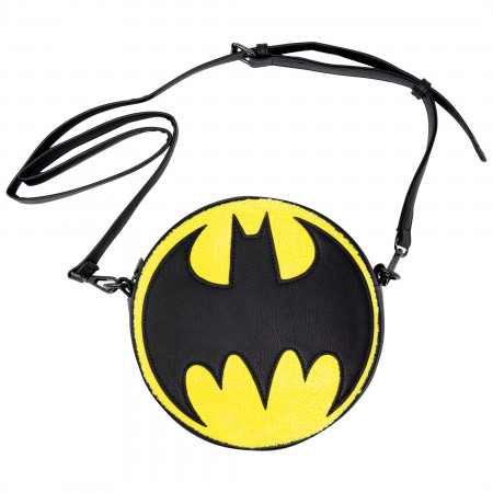 Batman Chenille Crossbody Purse
