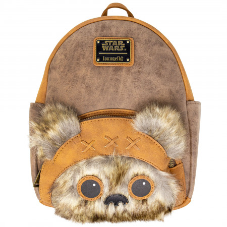 Ewok Faux Leather Mini Backpack