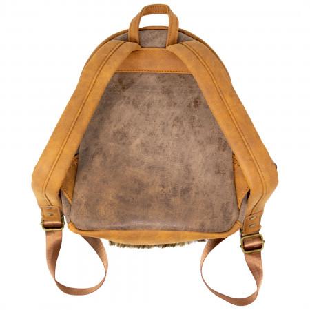 Ewok Faux Leather Mini Backpack