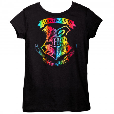 Harry Potter Hogwarts Girls Youth T-Shirt