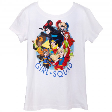 DC Comics Girls Squad Youth T-Shirt