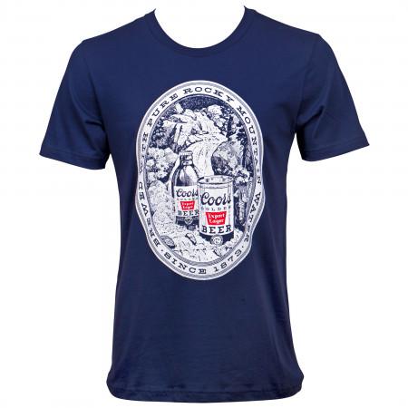 Coors Mountain Logo T-Shirt