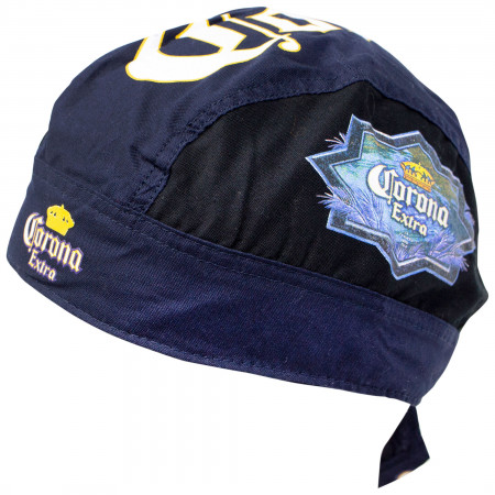 Corona Navy Blue Headwrap Bandana