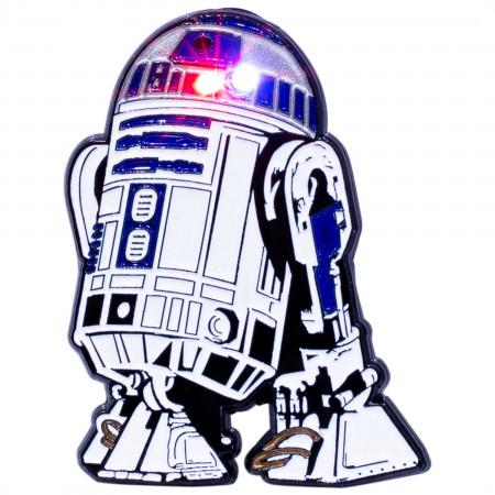 Star Wars R2-D2 Light Up Pin