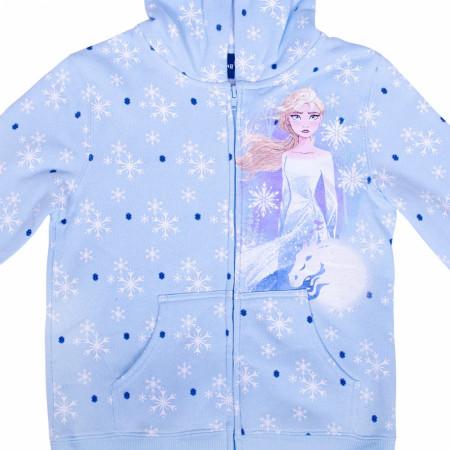 Frozen 2 Youth Zip Up Hoodie