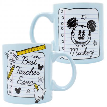 Mickey Mouse Best Teacher Ever 20 Oz Mug