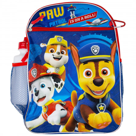 Paw Patrol Backpack, Lunch Bag, Water Bottle 5-Piece Combo Set