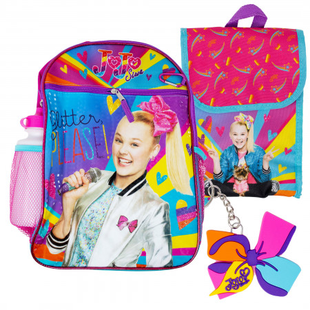 Jojo Backpack, Lunch Bag, Water Bottle 5-Piece Combo Set