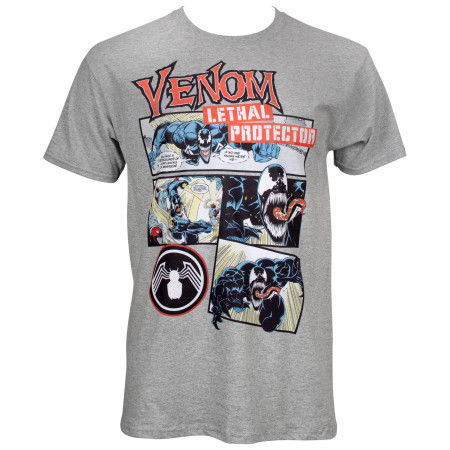 Venom Comic Panels T-Shirt