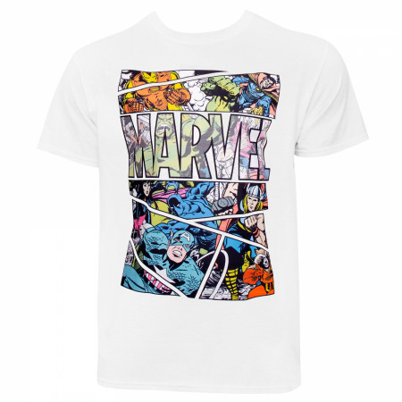 Marvel Comic Panel T-Shirt