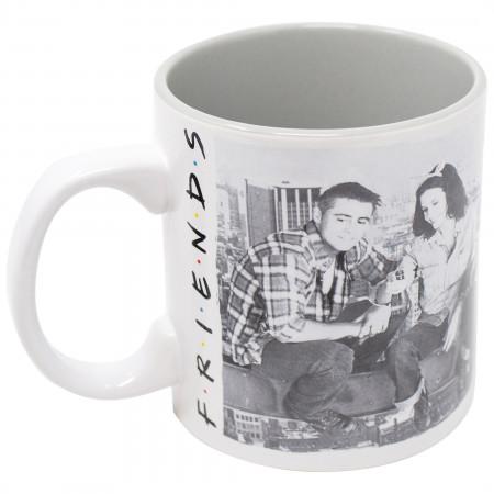 Friends Black and White 20 Oz Mug