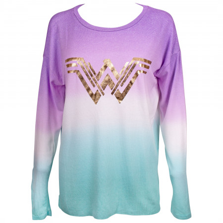Wonder Woman Hacci Tunic Long Sleeve Shirt