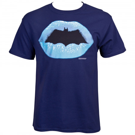 Batman Lips Symbol T-Shirt
