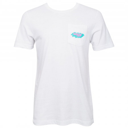 Natural Light Vintage Logo Pocket T-Shirt