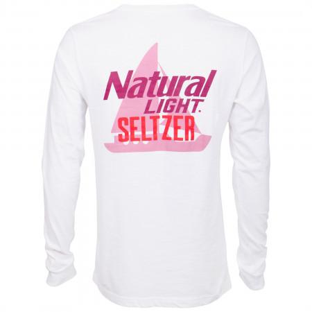 Natural Light Seltzer Boat Long Sleeve Pocket Shirt