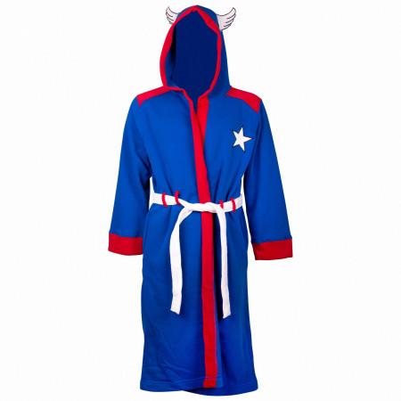Captain America Minimalist Costume Robe
