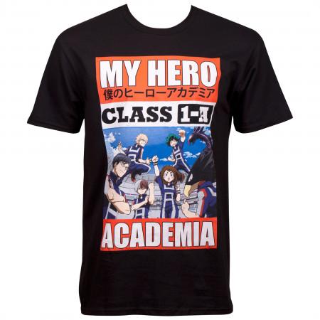 My Hero Academia Class 1A T-Shirt