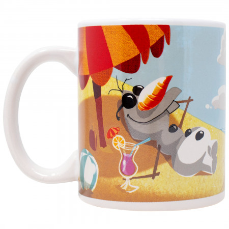 Disney Frozen Olaf Beach 11 Ounce Mug