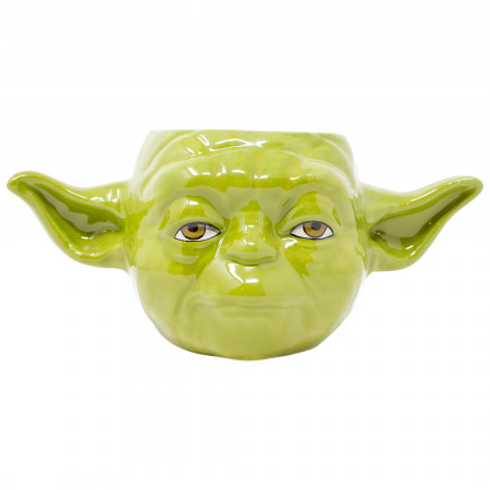 Star Wars Yoda Character Molded Mug