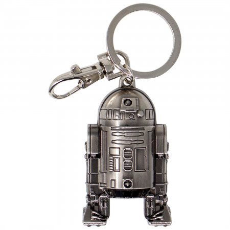 Star Wars R2-D2 Pewter Key Ring