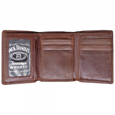 Jack Daniels Brown Old No. 7 Bi-Fold Wallet