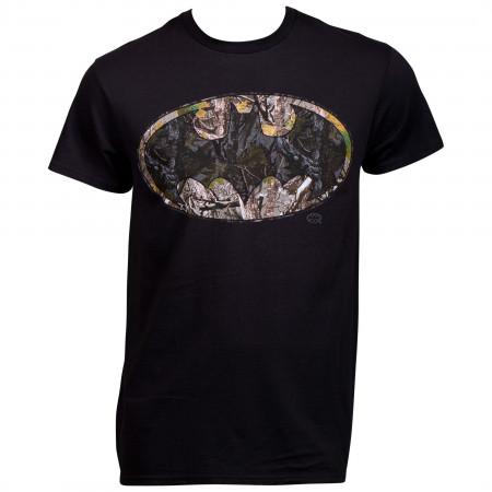 Batman Woody Camo Symbol T-Shirt
