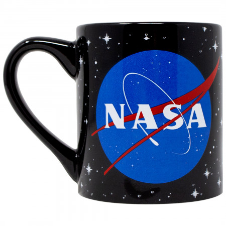 NASA Logo Stars 14oz Ceramic Mug