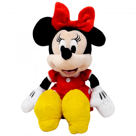 Disney Minnie Mouse Red Dress 11 Inch Plush Doll