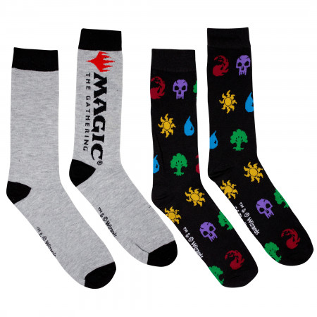 Magic the Gathering MTG 2-Pack Socks