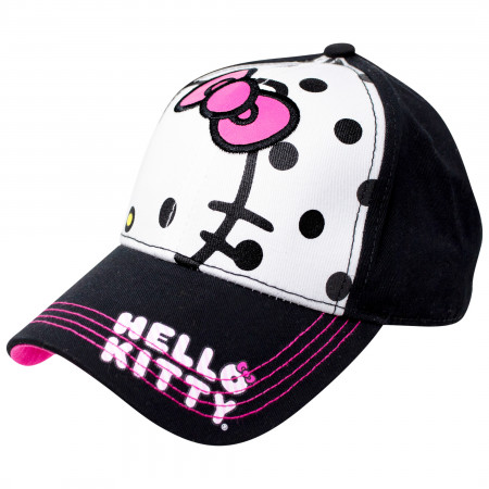 Hello Kitty Polka Dot Women's Snapback Hat