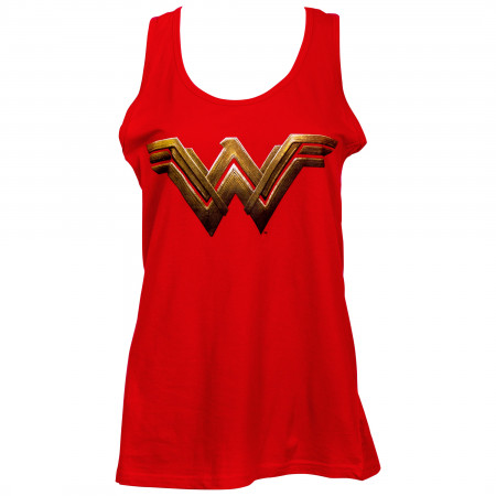 Wonder Woman Logo Women's Tank Top