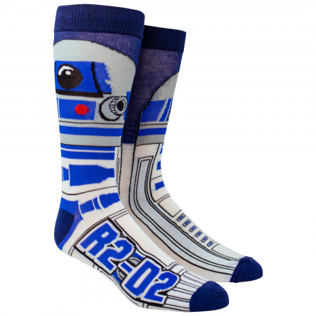 Star Wars R2-D2 Character Crew Socks