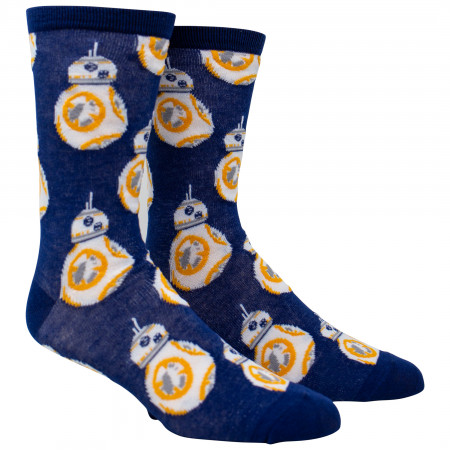 Star Wars BB-8 All Over Print Crew Socks