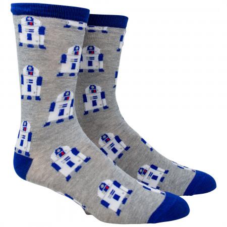 Star Wars R2-D2 All Over Print Crew Socks