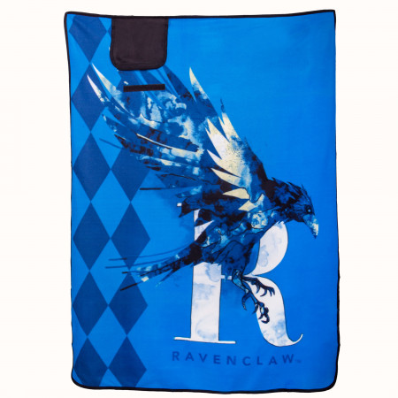 "Harry Potter Ravenclaw 43"" x 59"" Travel Blanket"