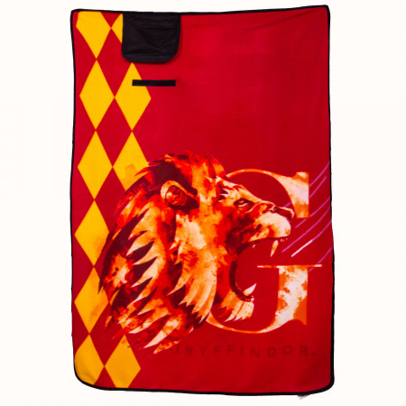 "Harry Potter Gryffindor 43"" x 59"" Travel Blanket"