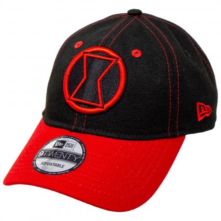 Black Widow Movie Logo With Title Text New Era 9Twenty Adjustable Hat