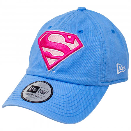 Supergirl Symbol New Era 9Twenty Casual Classic Adjustable Hat