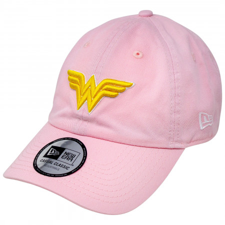 Wonder Woman Symbol New Era 9Twenty Casual Classic Adjustable Hat