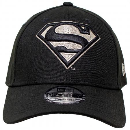 Superman Silver Symbol New Era 9Forty Adjustable Hat