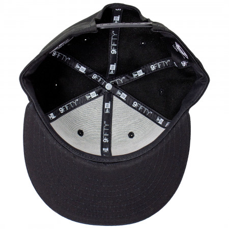 Superman Silver Symbol New Era 9Fifty Adjustable Hat