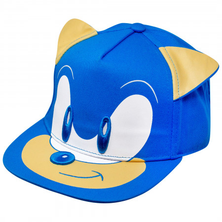 Sonic the Hedgehog Big Face Adjustable Kids Hat