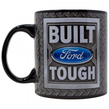 Ford Built Tough 20 Ounce Ceramic Mug