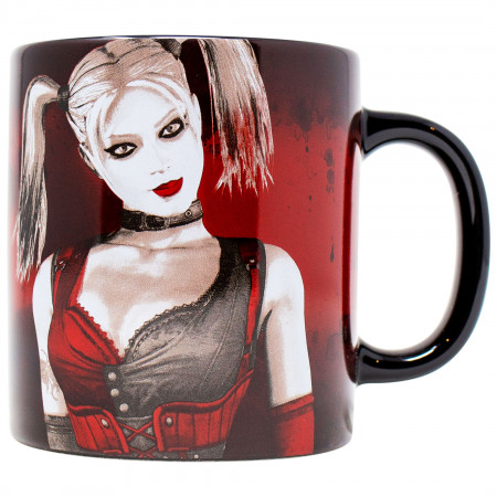 Harley Quinn Somebody in Arkham City Loves Me 15 Ounce Mug