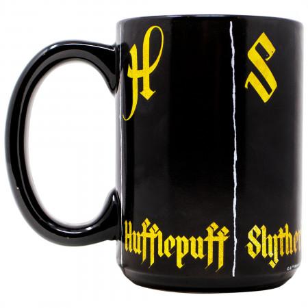 Harry Potter Hogwarts Houses Color Changing Mug