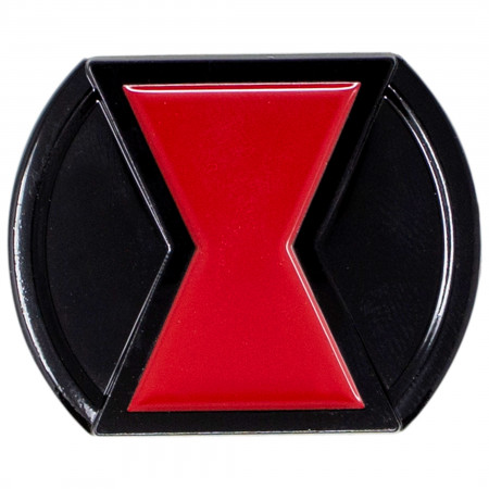 Black Widow Movie Belt Buckle Costume Pin