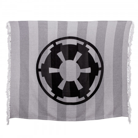 Star Wars Empire Logo Woven Throw Blanket