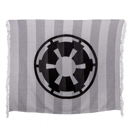 Star Wars Empire Logo Woven Throw Blanket